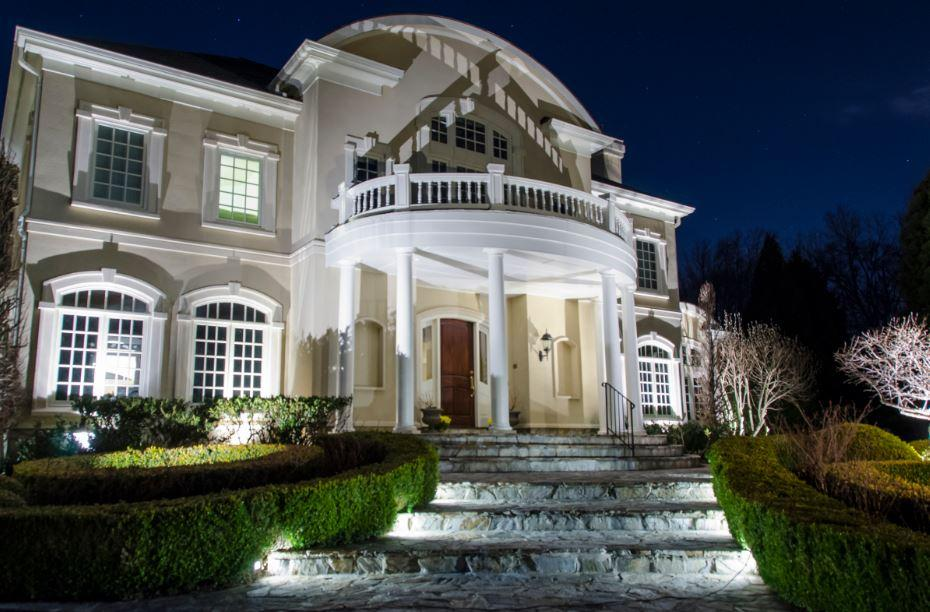 outdoor lighting fairfax mclean arlington loudon northern virginia maryland montgomery rockville howard anne arrundel